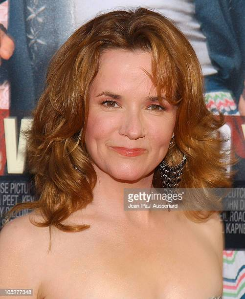 Lea Thompson during The Whole Ten Yards World Premiere Arrivals at Chinese Theatre in Hollywood California United States