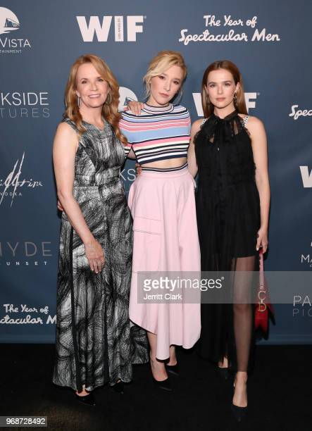 Lea Thompson Madelyn Deutch and Zoey Deutch attend the Premiere of MarVista Entertainment's The Year of Spectacular Men at AMC DineIn Sunset 5 on...