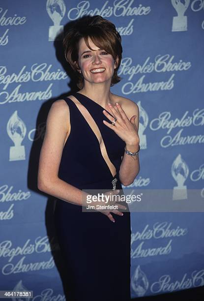 Lea Thompson poses for a portrait at the People's Choice Awards at the Pasadena Civic Auditorium in Pasadena California on January 12 1997