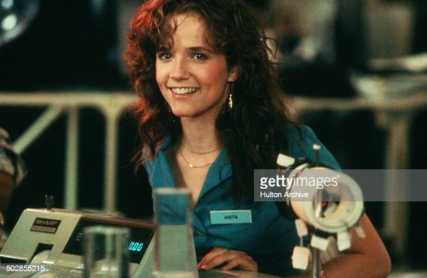 Lea Thompson smiles in a scene for the Universal Studios movie The Wild Life circa 1984