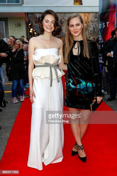 Lea van Acken and Alicia von Rittberg attend the Jupiter Award at Cafe Moskau on March 29 2017 in Berlin Germany