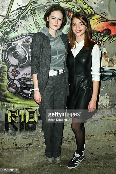 Lea van Acken and LisaMarie Koroll attend the Medienboard PreChristmas Party at Schwuz on December 1 2016 in Berlin Germany