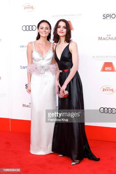 Lea van Acken and Luise Befort during the 46th German Film Ball at Hotel Bayerischer Hof on January 26, 2019 in Munich, Germany.