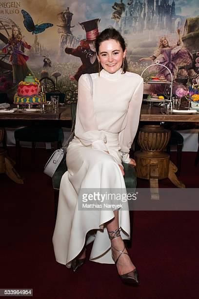 Lea van Acken attends the 'Alice im Wunderland Hinter den Spiegeln' Berlin screening and presentation of the Kaviar Gauche Capsule Collection at Soho...