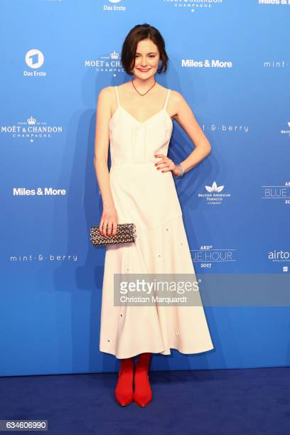 Lea van Acken attends the Blue Hour Reception hosted by ARD during the 67th Berlinale International Film Festival Berlin on February 10 2017 in...