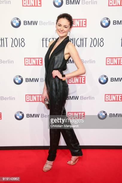 Lea van Acken attends the BUNTE BMW Festival Night on the occasion of the 68th Berlinale International Film Festival Berlin at Restaurant Gendarmerie...
