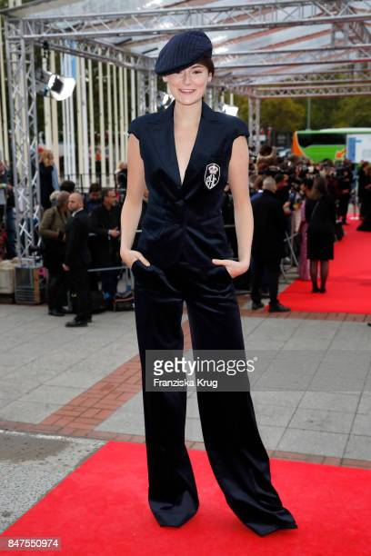 Lea van Acken attends the UFA 100th anniversary celebration at Palais am Funkturm on September 15 2017 in Berlin Germany