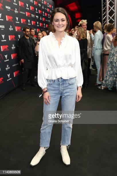 Lea van Acken during the Bunte New Faces Award Film at Umspannwerk Alexanderplatz on May 2 2019 in Berlin Germany