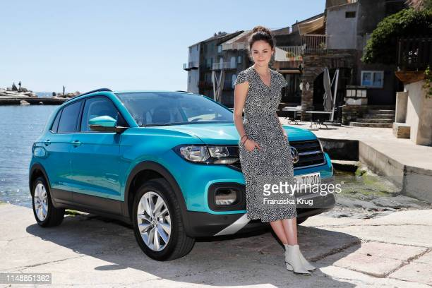 Lea van Acken during the Volkswagen T-Cross Driving Experience on April 30, 2019 in Bastia on the island of Corsica, France.