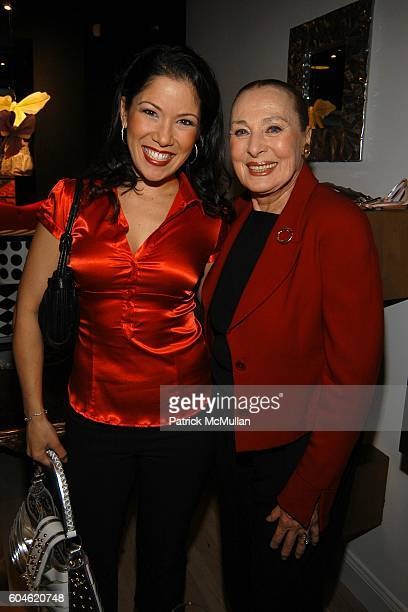 Lea Woods Friedman and Rita Gam attend JOAN JEDELL Publisher of THE HAMPTON SHEET hosts the opening of BEVERLY FELDMAN's footwear boutique at Beverly...