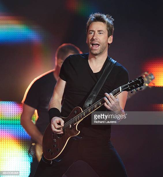 Lead Chad Kroeger does his thing Canadian rock band Nickelback was in concert at the Air Canada Centre The band is composed of guitarist and lead...