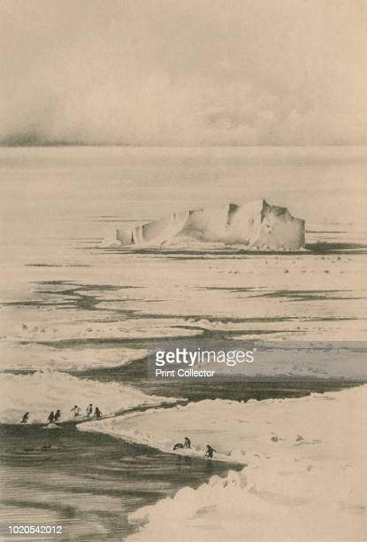 A Lead in the Pack' circa 19101913 The final expedition of British Antarctic explorer Captain Robert Falcon Scott left London on 1 June 1910 bound...
