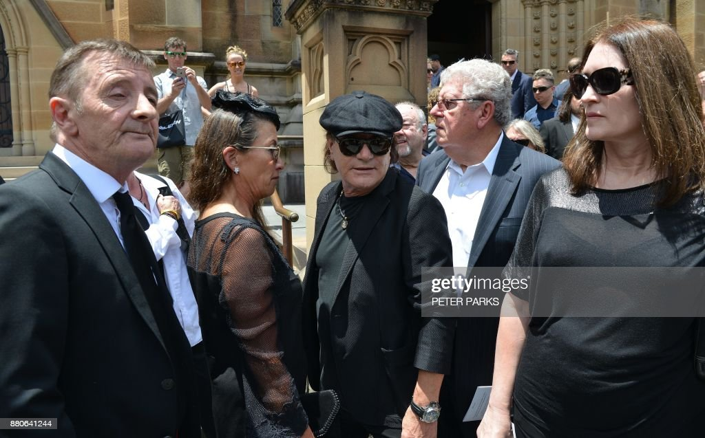 Malcolm Young Funeral Service