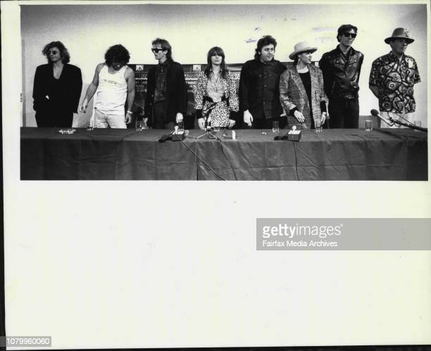 Lead singer from INXS Michael Hutchence Top picture Michael Hutchence from INXS Jimmy Barnes Sean Kelly Christina Ampphlett Chris Bailey Kate...
