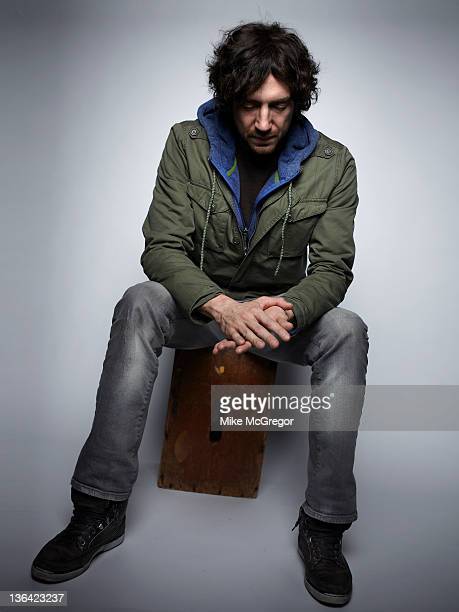Lead singer Gary Lightbody of Snowpatrol is photographed for Billboard Magazine on December 6 2011 in New York City
