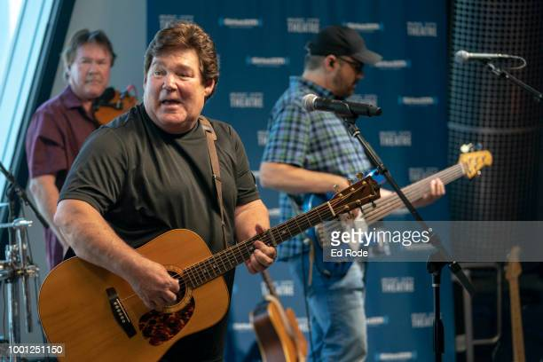 Lead singer Marty Raybon and his group Shenandoah perform at SiriusXM Studios Bridgestone Arena on July 18 2018 in Nashville Tennessee