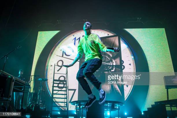 STAGE TORONTO ONTARIO CANADA Lead singer of British Indie pop band Bastille Dan Smith performs a sold out show in Toronto