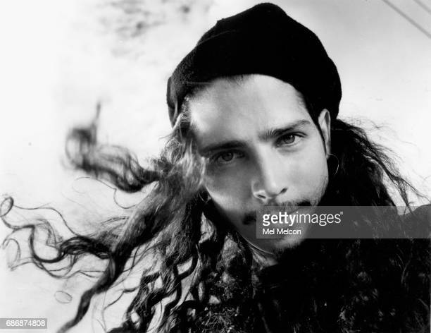 Lead singer of Soundgarden Chris Cornell is photographed for Los Angeles Times on August 25 1991 in Los Angeles California PUBLISHED IMAGE CREDIT...