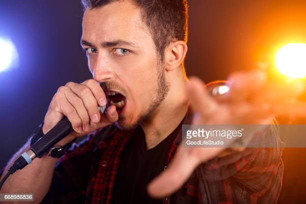 lead singer - lead singer stock pictures, royalty-free photos & images