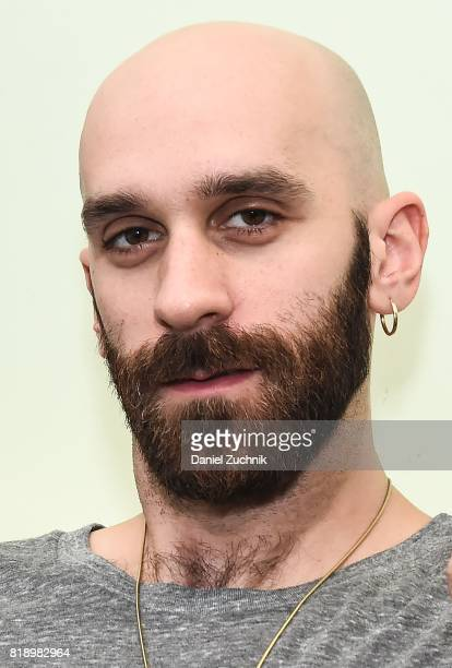 Lead Singer Sam Harris of the X Ambassadors visits Music Choice on July 19 2017 in New York City
