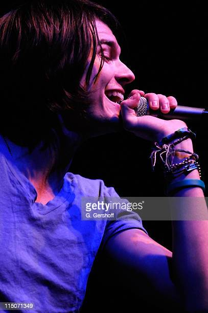 Lead singer William Beckett of The Academy Is performs at Roseland Ballroom on November 19 2008 in New York City