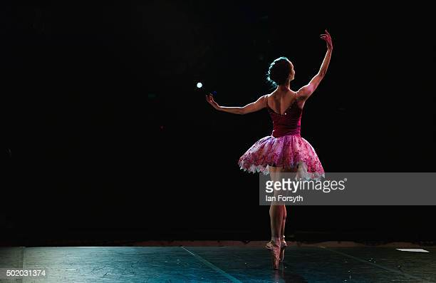 Lead soloist Dreda Blow practices her role as the Sugar Plum Fairy during rehearsals at the Grand Theatre for a performance of The Nutcracker by...