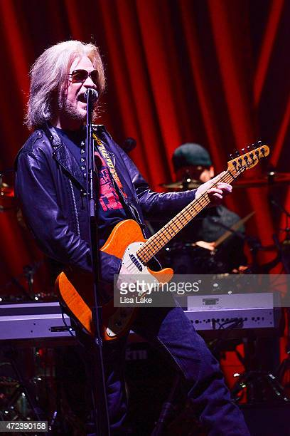 Lead vocalist and guitar player Daryl Hall of Hall and Oates performs live at at PPL Center on May 6 2015 in Allentown Pennsylvania