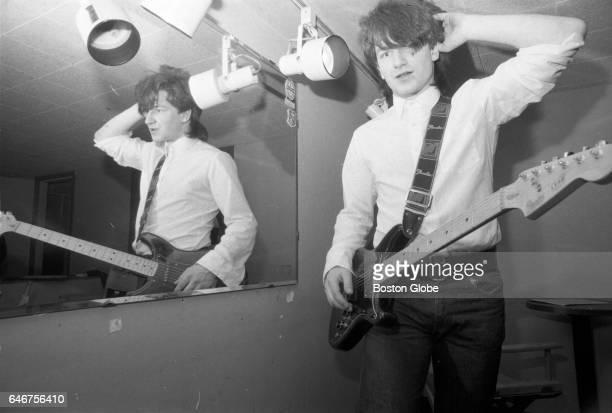 U2 lead vocalist Bono poses for a portrait in Boston on Mar 6 1981