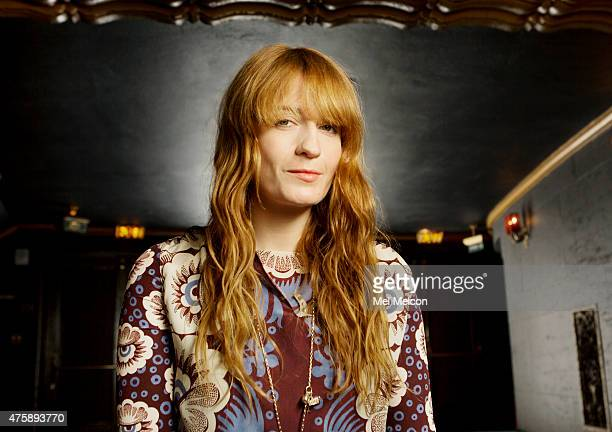 Lead vocalist of Florance the Machine Florence Welch is photographed for Los Angeles Times on May 15 2015 in Los Angeles California PUBLISHED IMAGE...