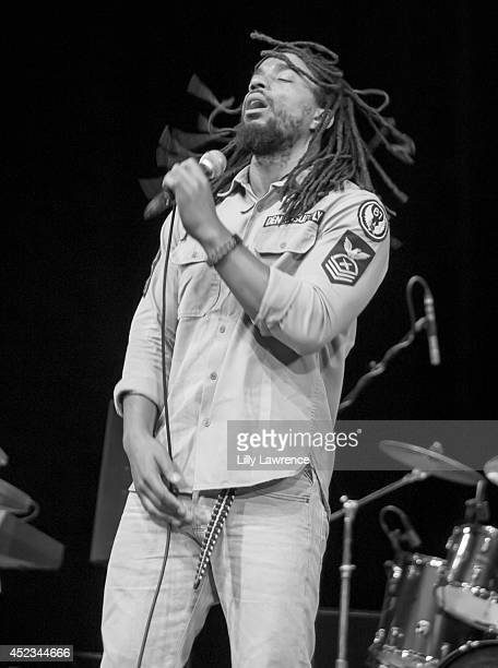 Lead vocalist of The Wailers Dwayne Danglin Anglin performs onstage at The Wailers Celebrate The 30th Anniversary Of Their Iconic Album Legend In Los...