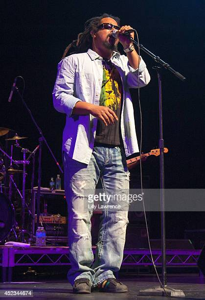 Lead vocalist of The Wailers Kevin Yvad Davy performs onstage at The Wailers Celebrate The 30th Anniversary Of Their Iconic Album Legend In Los...