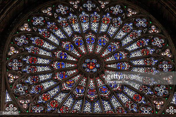 Leaded Window, cathedral, Rouen