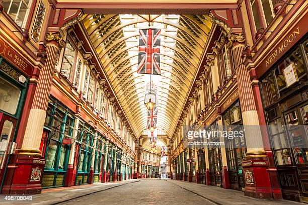 leadenhall 市場,ロンドン,英国 - レドンホールマーケット ストックフォトと画像