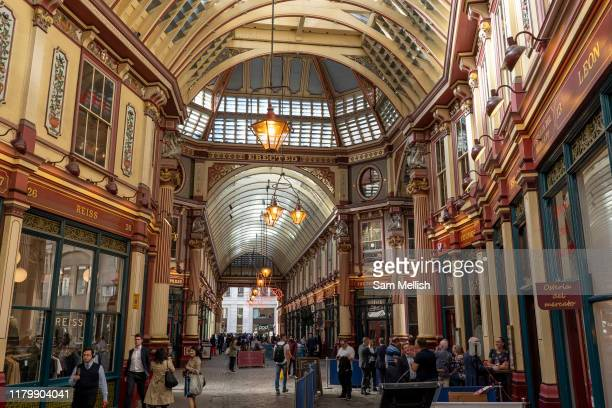 Leadenhall Market on the 12th September 2019 in London in the United Kingdom.