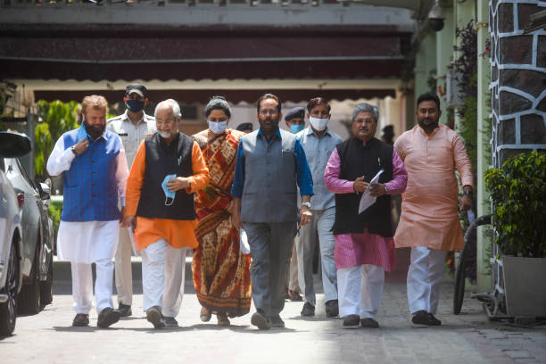 IND: BJP Delegation Meets EC On The issue of WB Legislative Assembly Election 2021