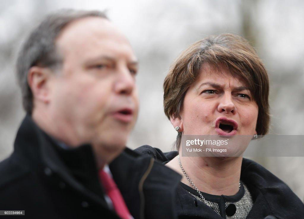 Stormont powersharing talks : News Photo