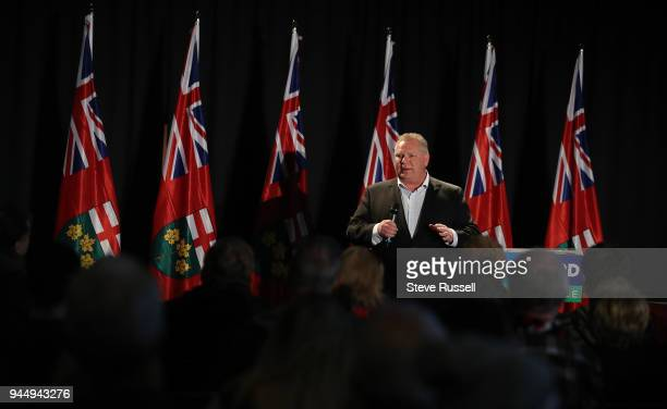 Leader Doug Ford skips the Provincial Leaders debate hosted by the Black Community to campaign in Northern Ontario including this a rally attended by...