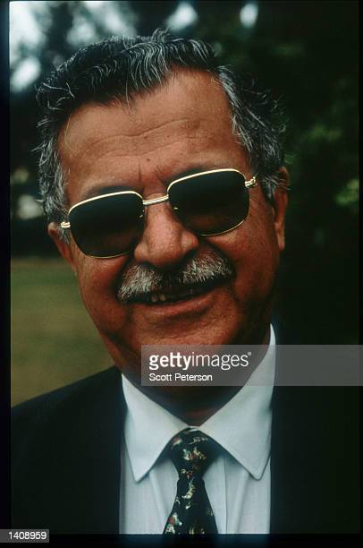 PUK leader Jalal Talabani stands April 16 1996 in northern Iraq Efforts by the Kurds to achieve autonomy or independence for the region have been...