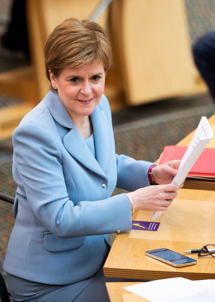 GBR: Nicola Sturgeon Formally Re-Elected As Scotland's First Minister
