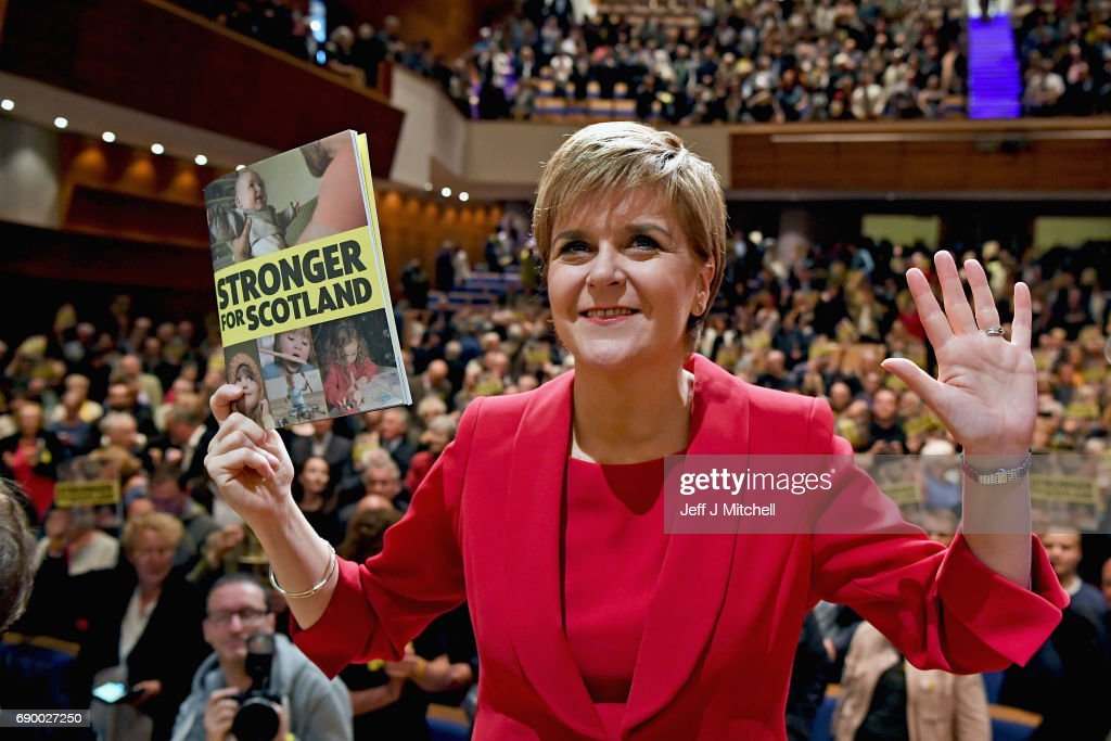 Nicola Sturgeon Launches The SNP Election Manifesto