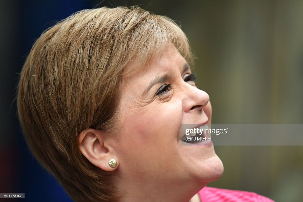 Nicola Sturgeon Spends The Day Putting Women Front And Centre Of Her Election Campaign