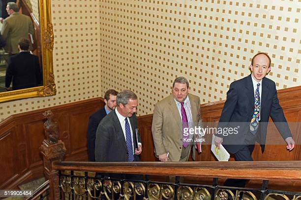e275622de318 UKIP leader Nigel Farage and Scottish leader David Coburn arrive for the  launch of the party s