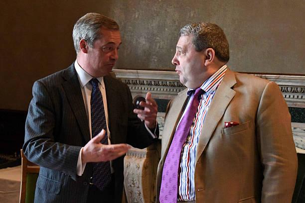 415ce178d971 Nigel Farage Launches UKIP Scottish Manifesto Pictures