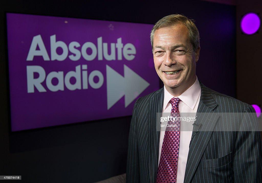 Nigel Farage Visits Bauer Radio