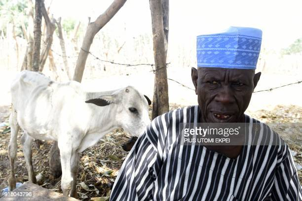 Leader of Benue cattle market Madu Maji speaks about herders and farmer's violent clahes in Logo and Guma communities in Benue State in northcentral...