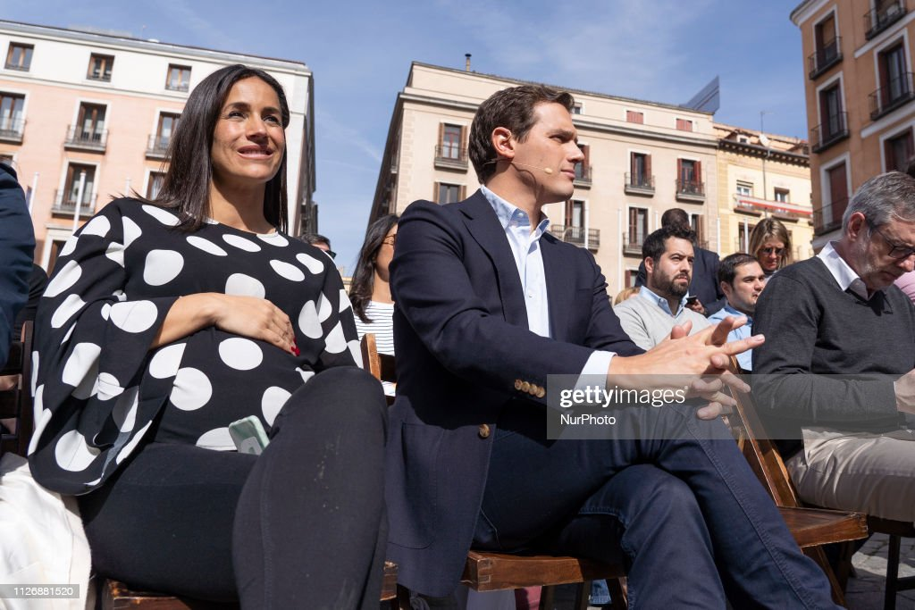 ESP: Citizens Party Meeting In Madrid
