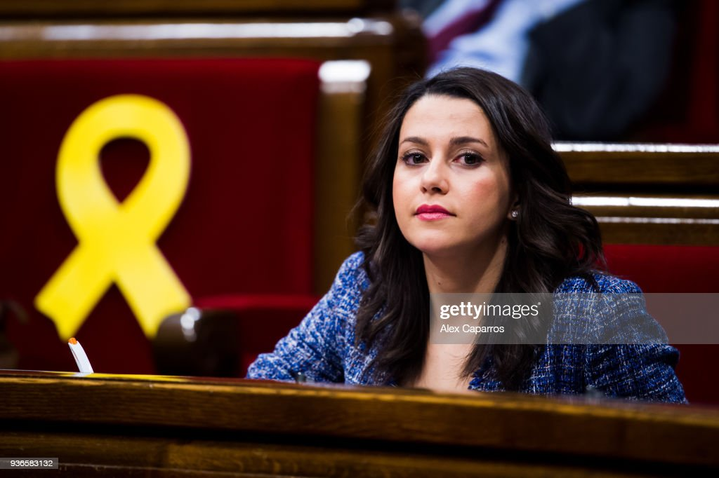 Catalan Parliamentary Session Of Investiture