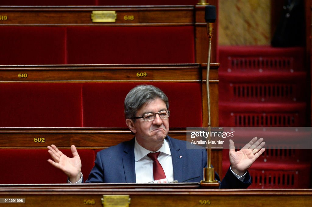 Government Question Time At French Parliament