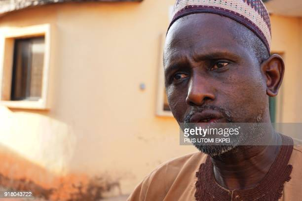 Leader of Miyetti Allah in Nasarawa State Mohammed Hussau speaks in Lafia capital of Nasarawa State northcentral Nigeria on January 4 2018 Nomadic...