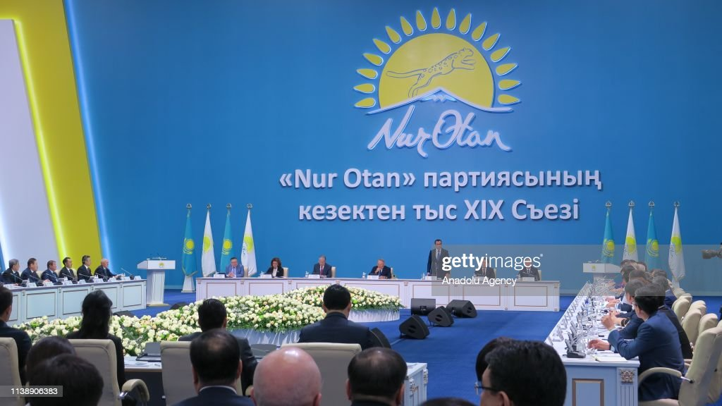 Kassym-Zhomart Tokayev announced as Presidential candidate : News Photo